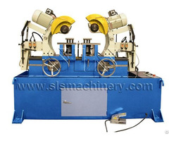 Pneumatic Double Head Cold Saw Machine