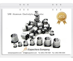 Jcs 2000h At 85°c Smd Aluminum Electrolytic Capacitor