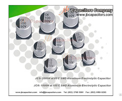 Jck 1000h At 105°c Smd Aluminum Electrolytic Capacitor