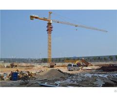 Qtz125 Tc6513c Topkit Tower Crane Max Load 6t Or 8t Maxjib Length 65m