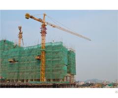 High Efficiency Qtz160 Tc6517 Topkit Tower Crane Max Load 8t Or 10t