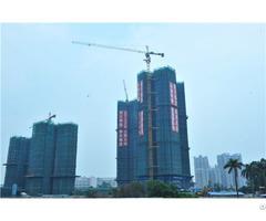 Qtz160 Tc7015 Topkit Tower Crane Maxload 10t Maxjib Length 70m Tip Load 1 5t