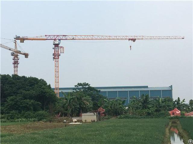 Qtp200 Tct7021 Topless Tower Crane Max Load 10t Or 12t Maxjib Length 70m