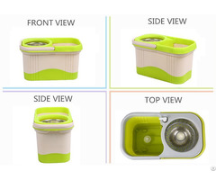 Kxy Ft Double Color Spin Mop 360
