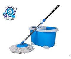 Kxy Qq Cute Spin Mop Magic Bucket