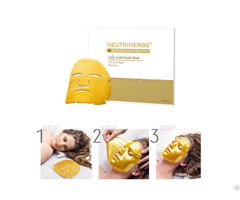 24k Gold Anti Wrinkles Bio Collagen Facial Mask