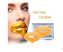 24k Gold Collagen Lip Plumping Mask