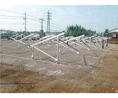 High Quality Screw Pile Foundation Solar Ground Structure 500kw