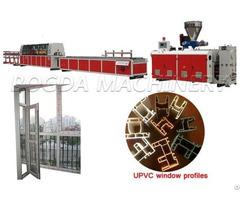 Plastic Upvc Window And Door Profile Extrusion Machine