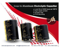 Jne 2000h At 105°c Miniaturized Snap In Aluminum Electrolytic Capacitor