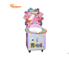 Kids Coin Operated Arcade Lollipop Gift Vending Game Machine For Sale