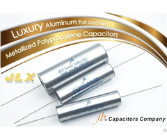 Jlx Luxury Aluminum Foil And Film Metallized Polypropylene Capacitors Axial