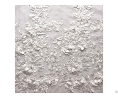 Embroidery Lace Fabric For Apparel
