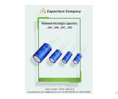 Jrd 5000h At 105°c Radial Aluminum Electrolytic Capacitor Features