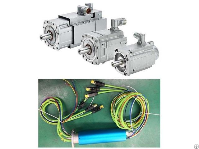 Servo Motor Encoder Slip Ring For Yaskawa Servomotor Connector