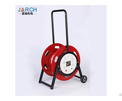 Retractable Hose Reel 2 Wheel Car Type 5 Cores Cord Reels