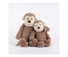 Cute Monkey Stuffed Animal