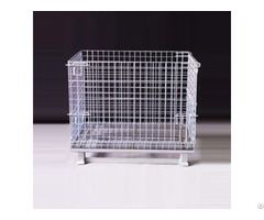 Hot Sale Aceally Collapsible Wire Mesh Container