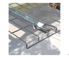 High Quality Flared Channel Wire Mesh Decking For Pallet Racking