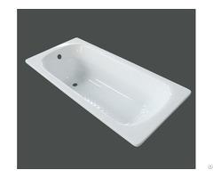 High Quality Built In Enameled Steel Bathtub Yx 3005