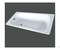 Steel Enamel Bathtub With Stamping Antislip Yx 3003
