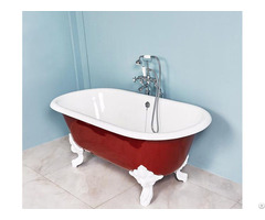 Cast Iron Double Ended Toll Top Bathtub Yx 007