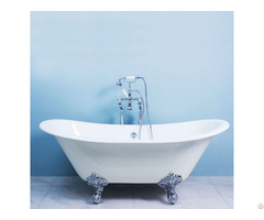 Double Ended Slipper Clawfoot Bathtub Yx 006