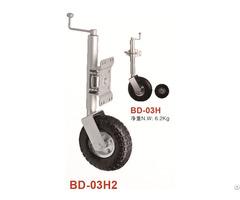 Jockey Wheels 250mm 10 Pneumatic Wheel With Swing Away Bracket
