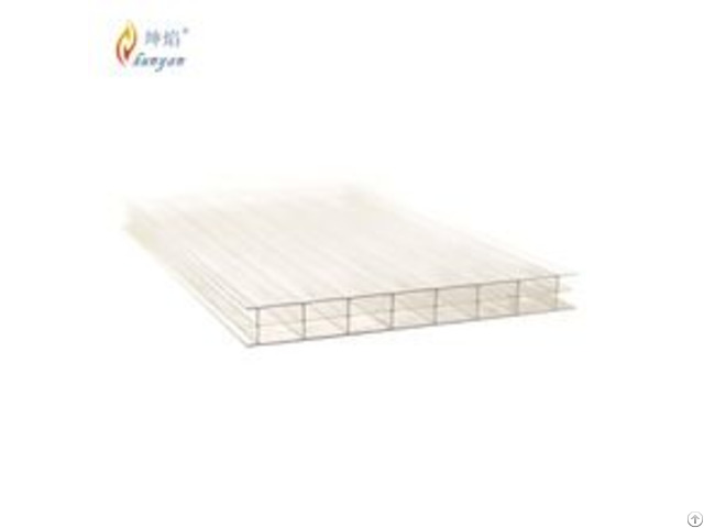 Greenhouse Polycarbonate Sheet Transparent Roofing Material