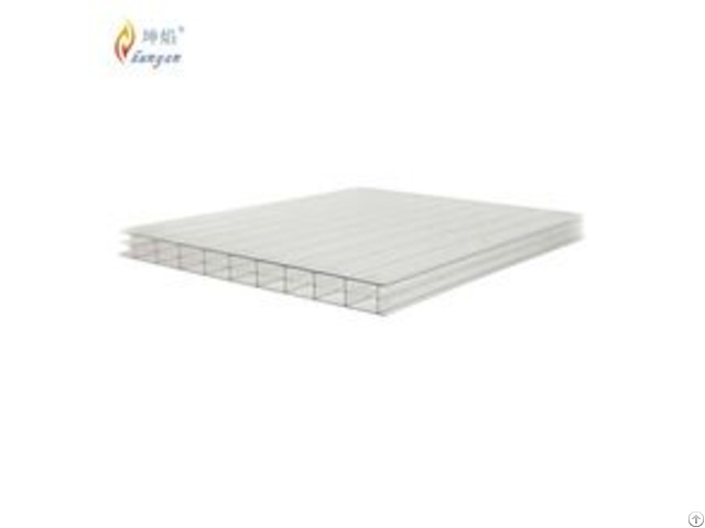 Uv Coated Multi Layer Polycarbonate Pc Sunshine Board From China