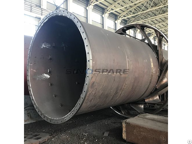Cement Rotary Drum Dryer For Limestone