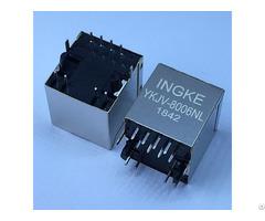 Ykjv 8006nl Jd2 0010nl Vertical 100 Base Tx Magnetic Rj45 Modular Connectors