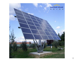 Solar Panel Cell With Dual Axis Tracking Controller System