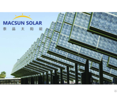 High Efficiency Cpv Solar Modules With Combines Gaas Multi Junction