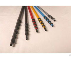 Rigid 25ft Carbon Fiber Telescopic Pole Telescoping Tubing With Iso9001