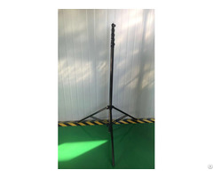 Seven Sections Forty Feet Carbon Fiber Camera Pole With Patented Clamp Iso9001 Approved