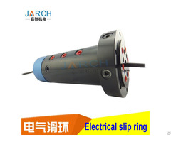 Pneumatic Slip Ring Rotary Joint 36 Circuits Electrical Connector