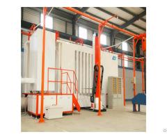 Hanna Brand Powder Spray Coating Booth Line Manufacturers