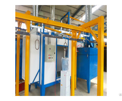 Fast Automatic Color Change Equipment Plastic Powder Coating Booth