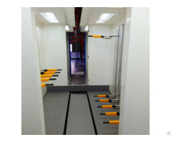 Bike Accessory Products Powder Coating Equipment Spray Painting Facility
