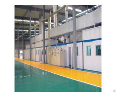 Automatic Stainless Steel Cookware Spray Painting Equipment Line