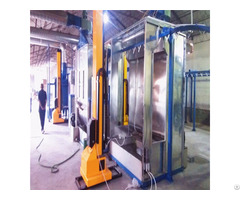 High Work Efficiency Powder Coating Recovery Booth System