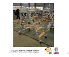 Easily Moveable Aluminium Folding Step Ladders For Industry