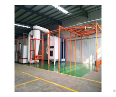 Best Fast Automatic Color Change System Plastic Powder Coating Booth