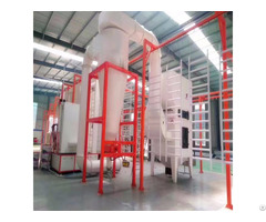 Safe Operate Electronic Control Cabinet Powder Spray Booth