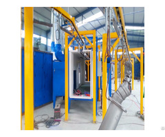 Electrostatic Powder Coating Spray Painting Booth Equipment