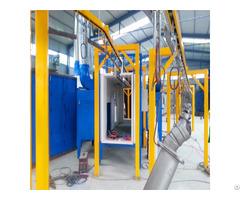 Good Performance Electrostatic Powder Coating Chamber Spray Paint Machine