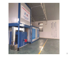 Powder Coating Line With Drying Oven Equipment Chamber
