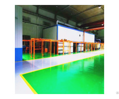 Bridge Type Curing Oven Powder Coating Line System