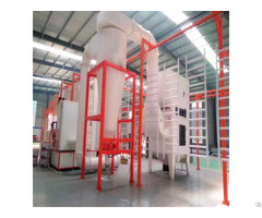China Supply Quick Color Change Plastic Powder Coating Equipment Line